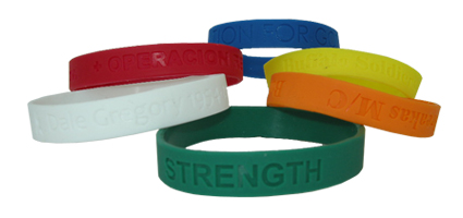 free rubber silicone of products wristbands samples bracelet info space manufacturers
