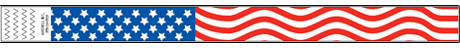 Stars and Stripes Wristband