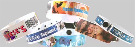 Full Color Plastic Wristbands